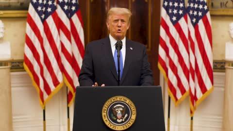 "Trump Delivers ""Farewell"" Address!"