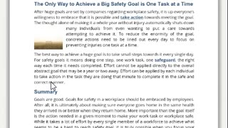 Safety Communications - Content Delivery