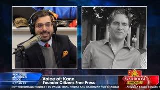 Kane on Drudge losing 50%