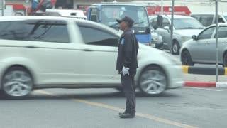 Thai traffic cop