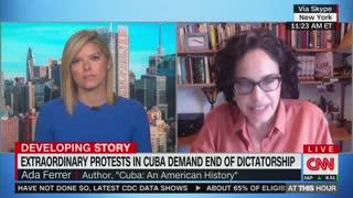 SHAMELESS: CNN Guest Blames Trump - Not Communism - for Cuban Protests