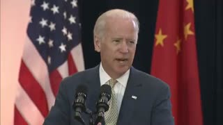 """FLASHBACK: Joe Biden said """"We want to see China rise"""" in a way that will """"benefit"""" China """"most."""""""