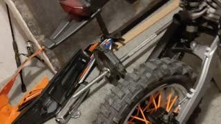 140cc pit bike part 2