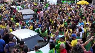 Brasil vive jornada de protestas en favor de Bolsonaro