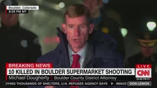 Boulder shooting press conference
