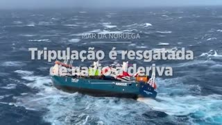 rescued crew from shipwreck