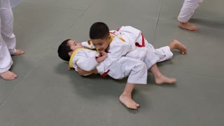 Paul's Jujitsu training
