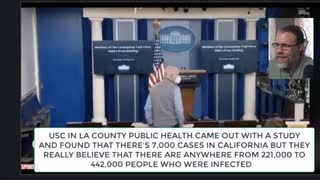 White House Press Admits Covid Was Just A Flu and hoax Hot Mic