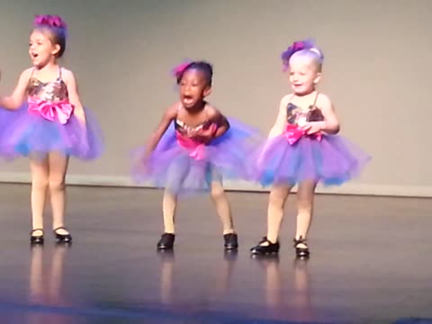 Tiny Adorable Tap Dancer Steals The Show With New Dance Routine